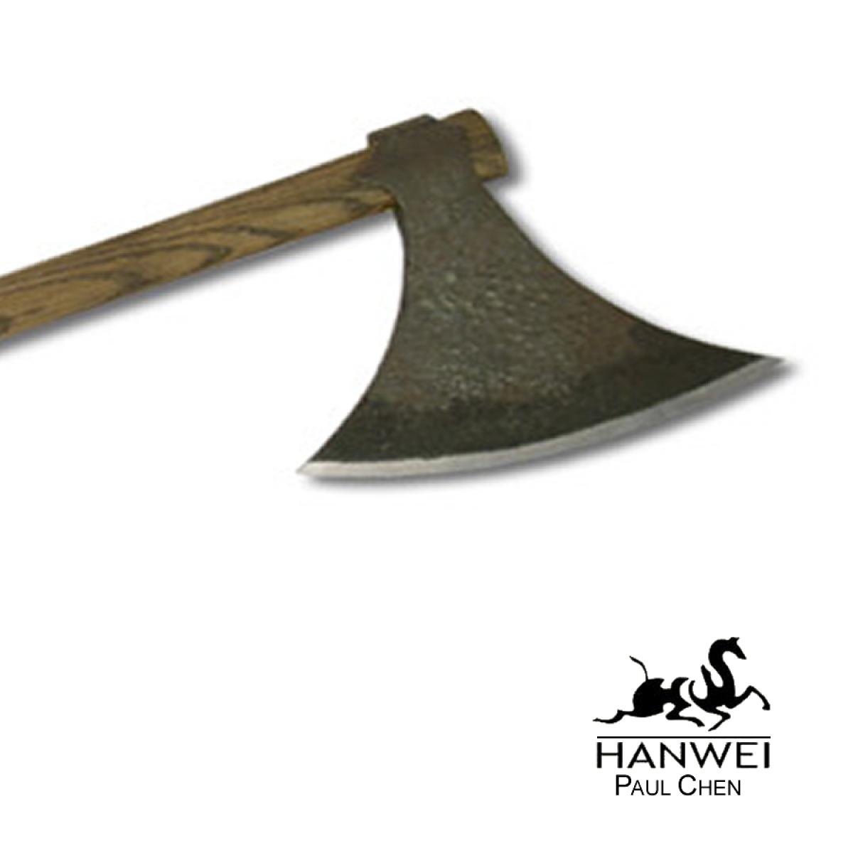 Barringtons Swords   Hanwei Paul Chen Viking Axe (Antiqued)