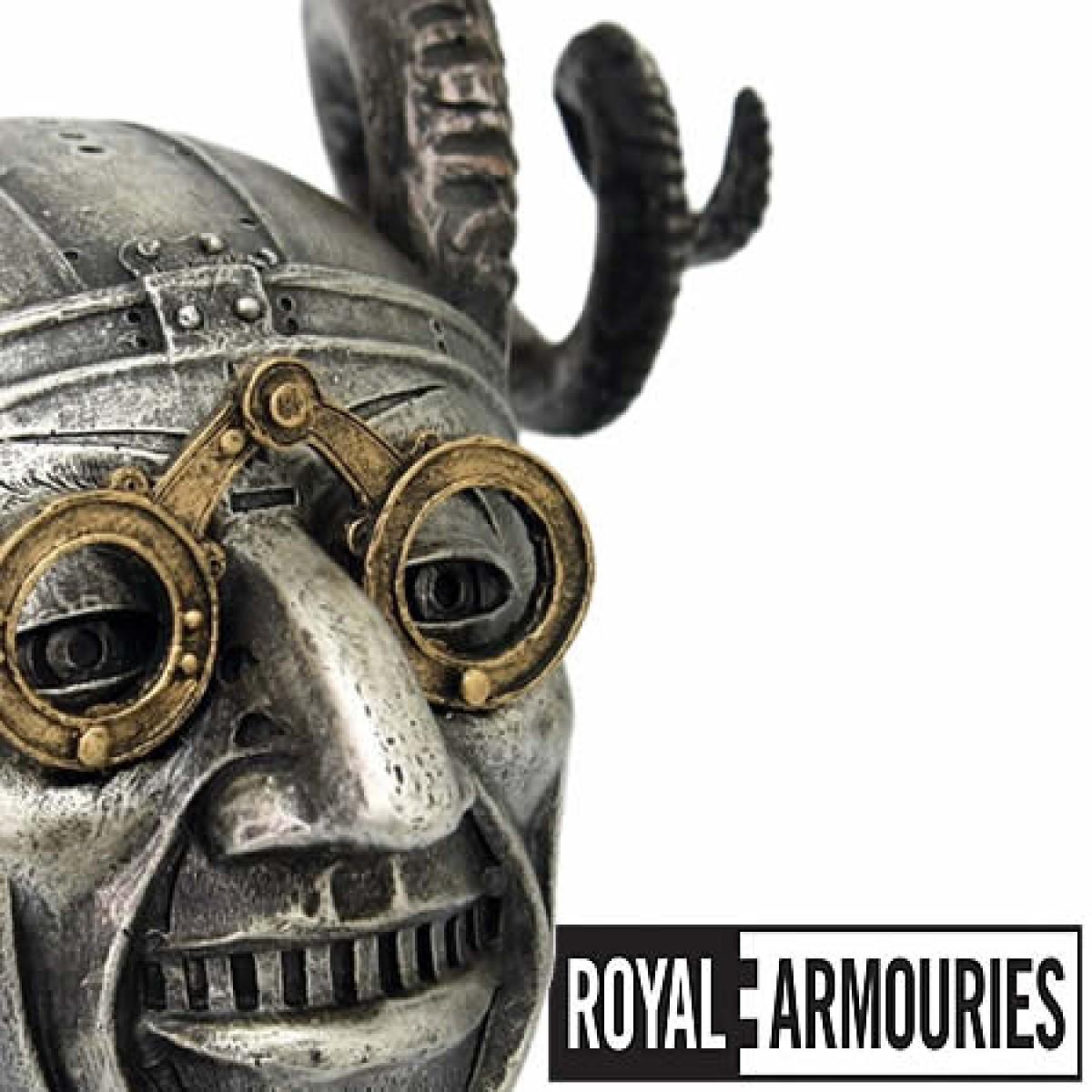 33624799 Barringtons Swords | Royal Armouries Horned Helmet