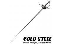 Cold Steel Swords Ribbed Shell Rapier Sword