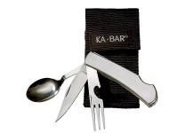 KA-BAR Knives Hobo Stainless Steel Fork/Knife/Spoon