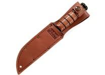 KA-BAR Knives USA Leather Sheath Fits Short Size KA-BAR