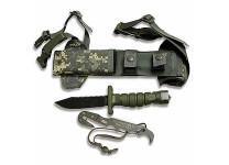 Ontario Knife Company ASEK Survival Knife System FG/UC