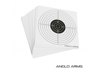 Shooting Targets: Pack of 50 14cm by 14cm Paper Targets